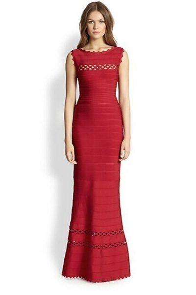 robe-de-soiree-rouge-avec-col-ronde-h692