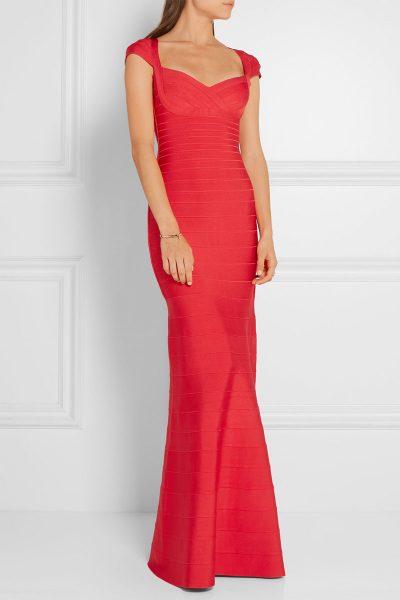 robes-de-soiree-maxi-rouges-sans-manche-z611-2
